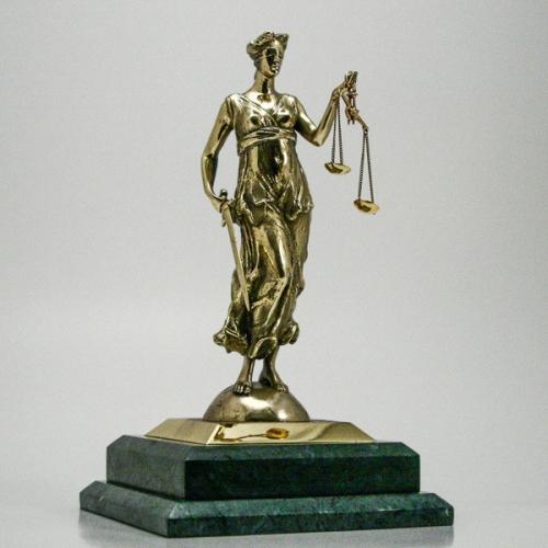 """Skulptūra """"Temidė"""""""