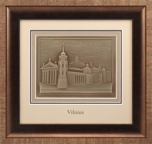 "Reljefinės grafikos paveikslas ''Vilnius"""