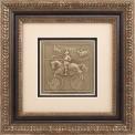 """Reljefinės grafikos paveikslas """"Svajonės pildosi II"""""""