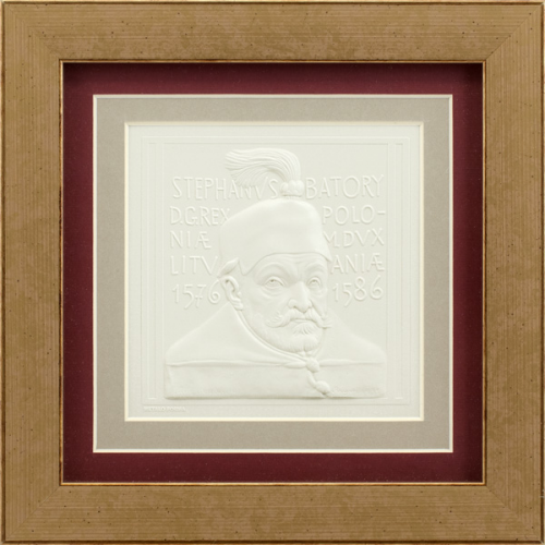 "Embossed graphic picture ""Stephen Bathory"""