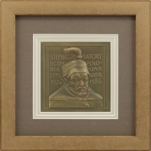 """Reljefinės grafikos paveikslas """"Steponas Batoras"""""""