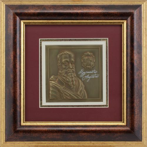 """Reljefinės grafikos paveikslas """"Žygimantas Augustas"""""""