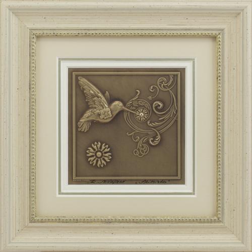 Reljefinės grafikos paveikslas ''Akimirka''