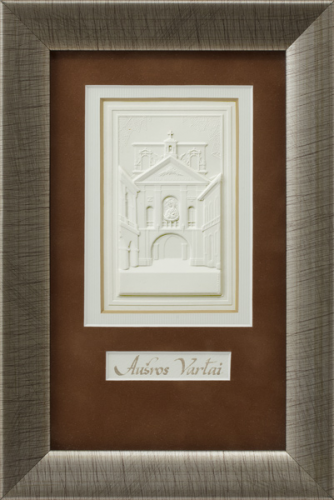 "Embossed graphic picture ""Gate of Dawn"""