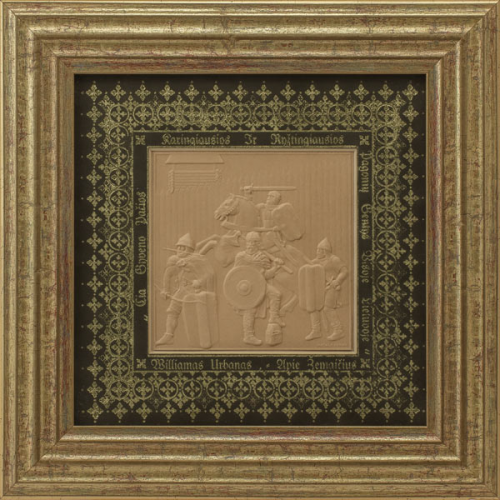 "Embossed graphic picture ""Soldiers"""