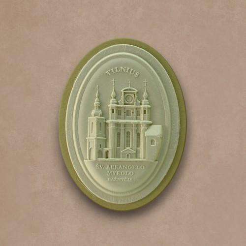 """Magnetukas """"Vilnius. Šv.Mykolo bažnyčia I"""""""