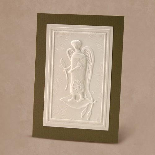 Reljefinės grafikos pakabinamas suvenyras ''Mano angelas''