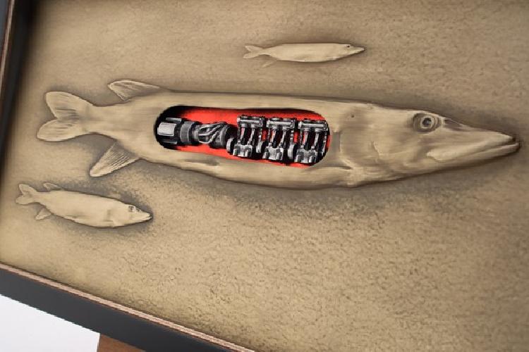 Dovana žvejui - Plėšrūnas