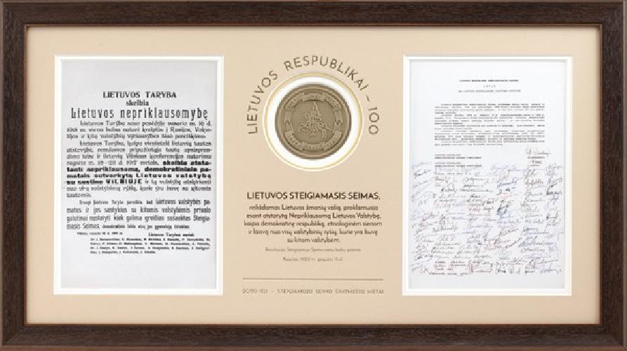 Lietuvos steigiamajam seimui - 100 metų