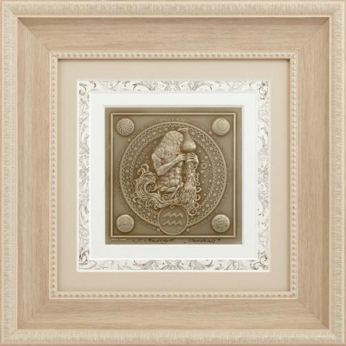 Reljefinės grafikos paveikslas ''Vandenis''
