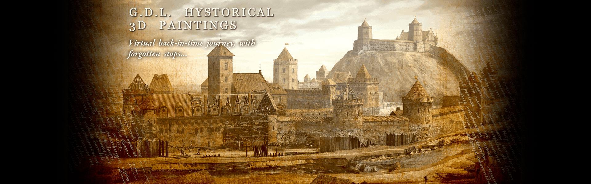 LDF historical paintings